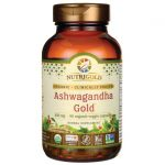 NutriGold Ashwagandha Gold 500 mg 90 Veg Caps Stress and Mood