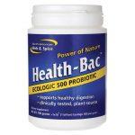 North American Herb & Spice Health-Bac 1 Billion CFU 100 Grams Powder Probiotics