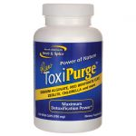 North American Herb & Spice Raw Toxipurge 120 Veg Caps Cleansing and Detoxification