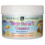 Nordic Naturals Omega-3 Gummies – Tangerine 60 Gummies Essential Fatty Acids
