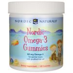 Nordic Naturals Omega-3 Gummies – Tangerine 120 Gummies Essential Fatty Acids