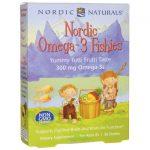 Nordic Naturals Omega-3 Fishies – Tutti Frutti Taste 36 Gummies Essential Fatty Acids