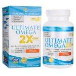 Nordic Naturals Ultimate Omega 2X Mini with Vitamin D3 – Lemon 60 Soft Gels Essential Fatty Acids