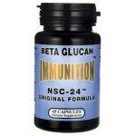Nutritional Supply Corp Immunition Nsc-24 Beta Glucan Original Formula 3 mg 60 Caps Immune Support