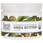 Nourish Organics Intensely Moisturizing Shea Butter 5.5 oz Solid Oil Skin Care
