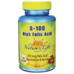 Nature's Life B-100 High Folic Acid 100 Caps B Vitamins