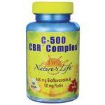 Nature's Life C-500 Cbr Complex 100 Tabs Vitamin C Immune Support