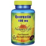 Nature's Life Quercetin 400 mg 100 Veg Caps Respiratory Health