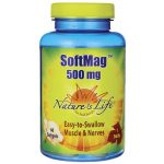 Nature's Life Softmag 500 mg 60 Soft Gels Bone Health