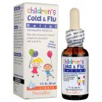 NatraBio Children's Cold & Flu Relief 1 fl oz Liquid Cold and Flu
