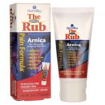 NatraBio The Arnica Rub 2 oz Cream Muscle Pain and Stiffness