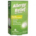 NatraBio Allergy Relief – Non-Drowsy 60 Tabs