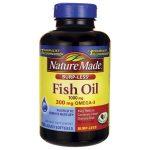 Nature Made Fish Oil Burp-Less 1,000 mg 150 Soft Gels Essential Fatty Acids