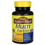 Nature Made Multi For Him No Iron 90 Tabs Multivitamins