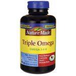 Nature Made Triple Omega 150 Soft Gels Essential Fatty Acids