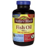 Nature Made Fish Oil 1,000 mg 250 Soft Gels Essential Fatty Acids
