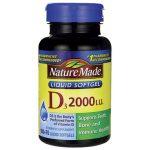 Nature Made Vitamin D3 2,000 Iu 250 Soft Gels Bone Health