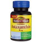 Nature Made Natural Astaxanthin 4 mg 60 Soft Gels Vision Health