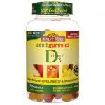Nature Made Adult Gummies Vitamin D3 150 Gummies Bone Health