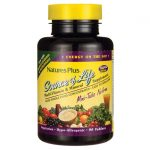 Nature's Plus Source Of Life Multi Vitamin & Mineral Mini-Tabs No Iron 90 Tabs Multivitamins