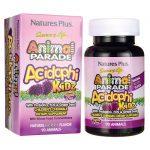 Nature's Plus Animal Parade Acidophikidz Berry 1 Billion CFU 90 Chewables Probiotics