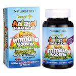 Nature's Plus Animal Parade Kids Immune Booster – Tropical Berry 90 Chewables Immune Support Children's Health