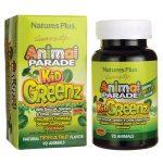 Nature's Plus Animal Parade Kidgreenz – Tropical Fruit 90 Chewables Children's Health