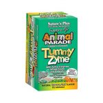Nature's Plus Animal Parade Tummy Zyme 90 Chewables Digestive Health and Fiber