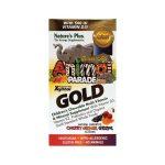 Nature's Plus Animal Parade Gold Multi-Vitamins Assorted 60 Chewables Children's Multivitamins