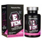 Nature's Plus E Fem Natural Hormonal Balance 60 Veg Caps Women's Health