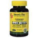Nature's Plus Love Bites Multi-Vitamin & Mineral Supplement for Children 90 Tabs Children's Multivitamins