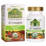 Nature's Plus Source of Life Garden Certified Organic B-Complex 60 Vegan Caps B Vitamins