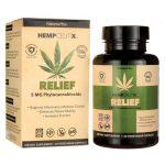 Nature's Plus Hempceutix Relief 5 mg 60 Veg Caps Joint Health