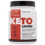 Nature's Plus Keto Living Lchf Shake – Chocolate 1.49 lbs Powder Protein