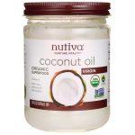 Nutiva Organic Virgin Coconut Oil 14 fl oz Solid Oil Essential Fatty Acids
