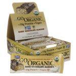 NuGo Nutrition Nugo Organic Bars Dark Chocolate Almond 12/1.76 oz Bars Protein