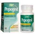 Nature's Way Pepogest Peppermint Oil 60 Soft Gels Digestive Health and Fiber