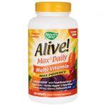 Nature's Way Alive! Max3 Daily Multi-Vitamin 180 Tabs