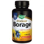 Nature's Way Efagold Borage 1,300 mg 60 Soft Gels Essential Fatty Acids