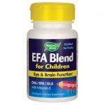 Nature's Way Efa Blend For Children 60 Soft Gels Children's Health