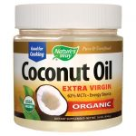 Nature's Way Organic Extra Virgin Coconut Oil 16 oz Solid Oil Essential Fatty Acids