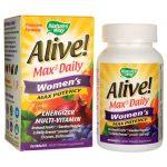 Nature's Way Alive! Max 3 Daily Women's Multi-Vitamin 90 Tabs