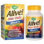Nature's Way Alive! Max 3 Daily Men's Multi-Vitamin 90 Tabs
