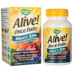 Nature's Way Alive! Once Daily Men's 50+ Ultra Potency 60 Tabs Multivitamins
