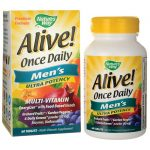 Nature's Way Alive! Once Daily Men's Ultra Potency 60 Tabs Multivitamins