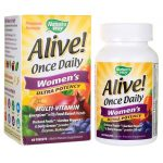 Nature's Way Alive! Once Daily Women's Ultra Potency 60 Tabs Multivitamins