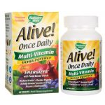 Nature's Way Alive! Once Daily Multi-Vitamin Ultra Potency 60 Tabs