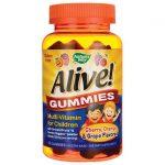 Nature's Way Alive! Children's Multi-Vitamin Gummies 90 Gummies Children's Multivitamins