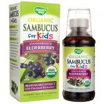 Nature's Way Organic Sambucus for Kids 4 fl oz Liquid Immune Support Children's Health