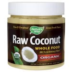 Nature's Way Organic Raw Coconut Whole Food 16 oz Solid Oil Essential Fatty Acids